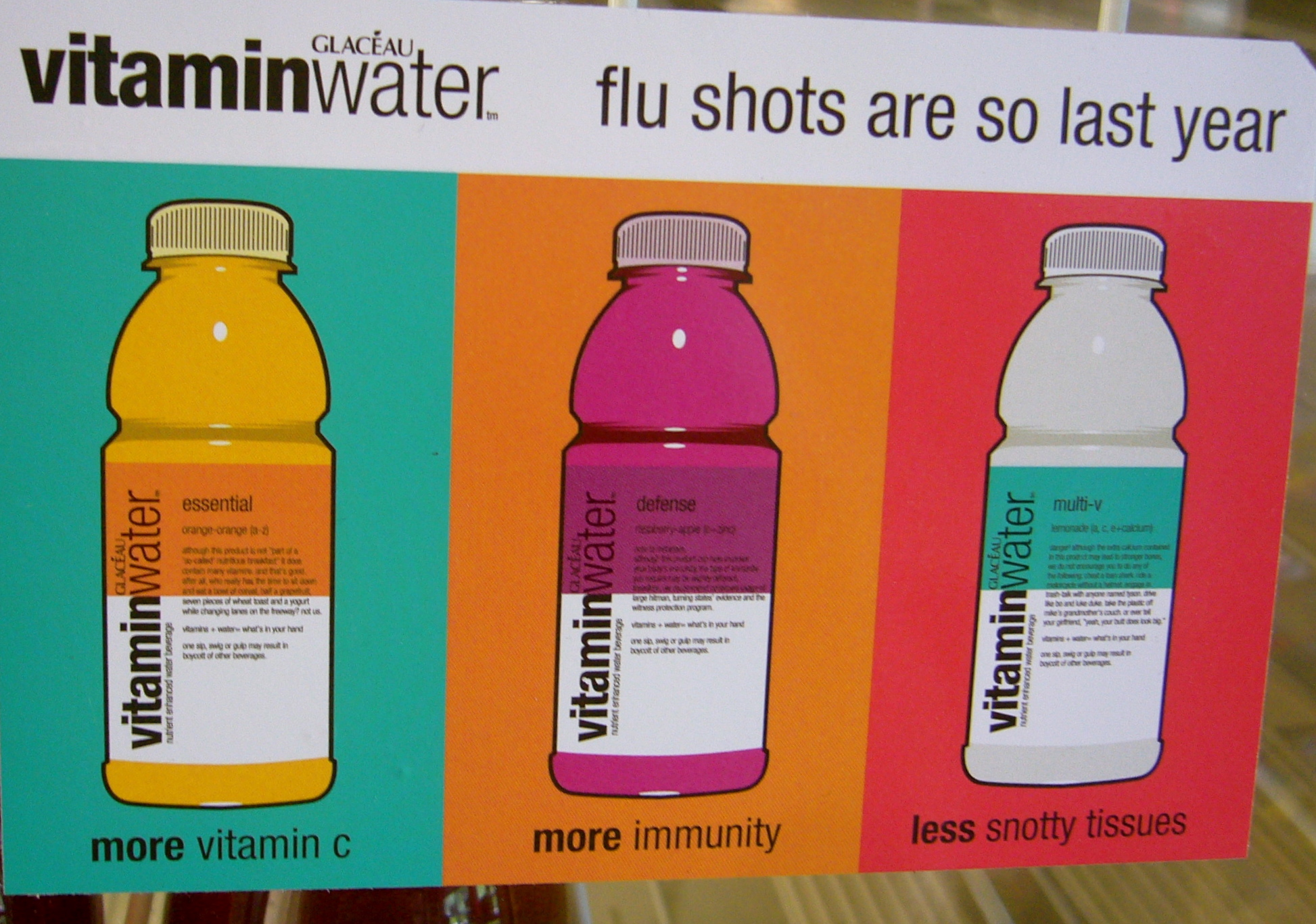 VitaminWater  Ethically Healthy Unethical Ads Example
