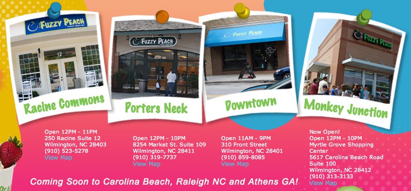 Fuzzy peach wilmington nc coupons