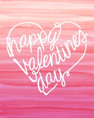 Happy Valentines Day Watercolor Free Printable_aca175bc-d541-4816-833f-edc8d03db7de