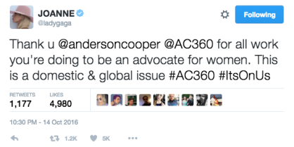 lady-gaga-joanne-anderson-cooper-starting-conversation-on-sexual-assault-imasurvivor-whywomendontreport-tweet-3