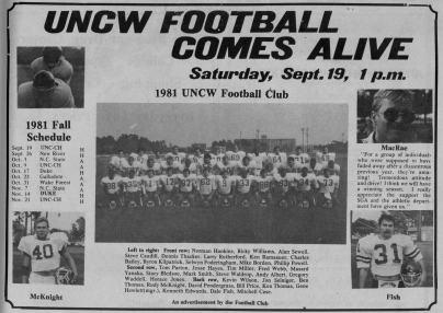 uncw football
