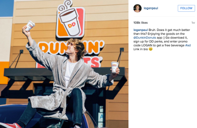 Best-Instagram-Campaigns-Brand-Sponsored-Posts-Logan-Paul-Dunkin-Donuts.png