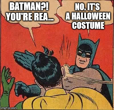 Halloween Meme Batman
